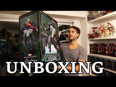 Unboxing Venom NIVEL DIOS de Diamond Select Toys