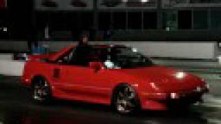 Toyota MR2 vs Ford Mustang