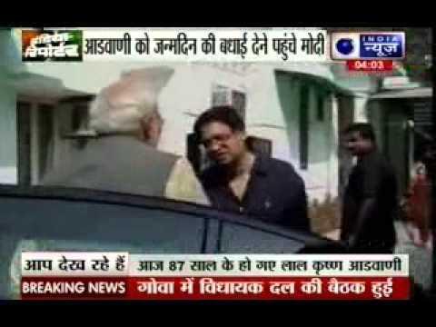 Lal Krishna Advani turns 87; Narendra Modi conveys birthday greetings
