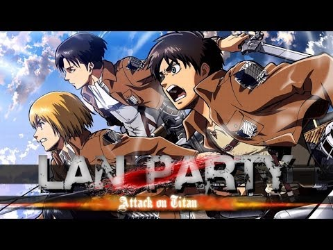 Attack on Titan LAN Party