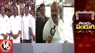 Face To Face Interview With Speaker Madhusudhana Chary On World Telugu Conference