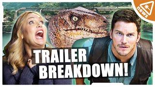 JURASSIC WORLD Official Trailer Breakdown! (Nerdist News w/ Jessica Chobot)