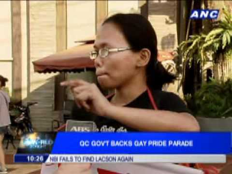 QC Gov't Backs Gay Pride Parade (The World Tonight)