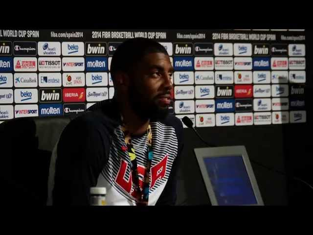 Kyrie Irving on Team USA's Gold Medal Victory