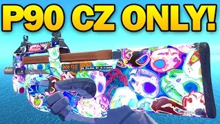 P90 CZ-75 ONLY! CS GO Competitive First Game