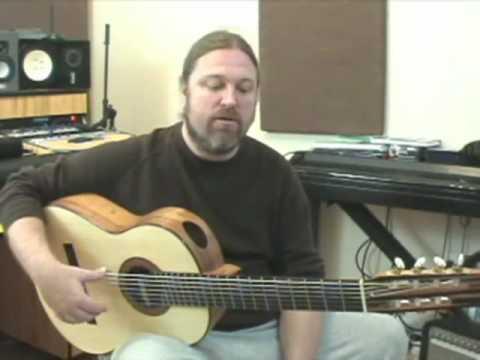 Luthier Stephen Faulk's new 7 string guitar