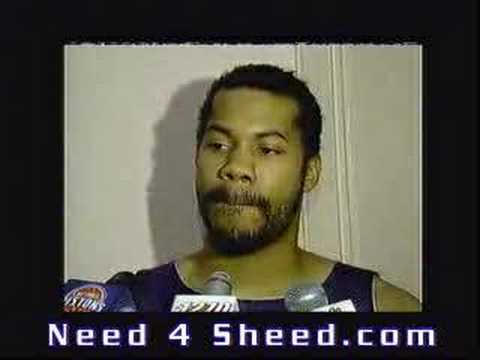 Rasheed Wallace Interview About Trash Talking