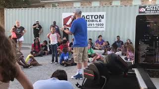Dillon Loving at Hip Hop Hope 5th Ward