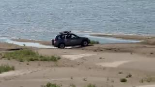 Suzuki Grand Vitara off road Volga-river. part 2