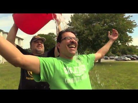 ALS Ice Bucket Challenge at Great Bay Community College