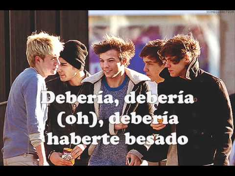 I Should've Kissed You - One Direction (subtitulada En Español) video