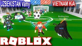 Roblox   Trận Banh Hài Hước Nhất Lịch Sử Của 2 Thánh Lầy   Project Minigames   Vamy Trần