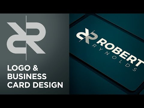 Logo And Business Card Design | Adobe Illustrator & Photoshop Tutorial