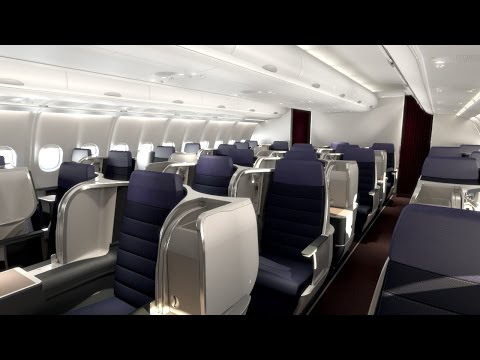 Malaysia Airlines A330-300 Business Class Seat