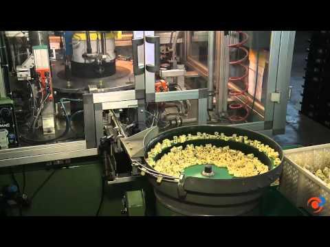 Válvulas termostáticas para regular la calefacción - Cadena de producción de Giacomini