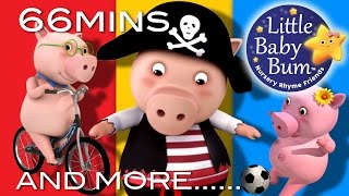 Little Baby Bum | Little Piggy Went to The Market | Nursery Rhymes for Babies | Songs for Kids