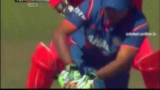 India v Zimbabwe Tri-Series 4th ODI - India Batting Part 02