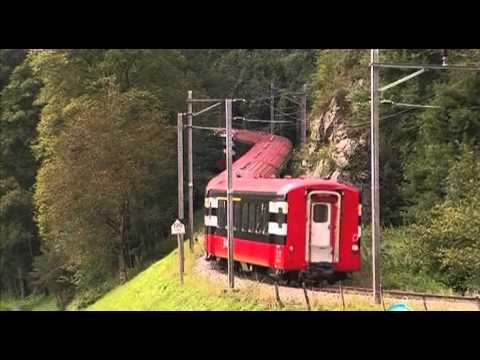 Железные дороги мира. Швейцария