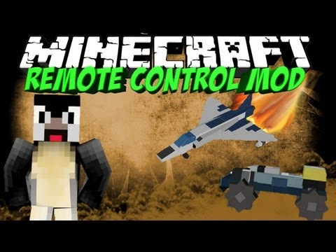 RC MOD: Minecraft Remote Control Mod Showcase! Submarines. Speed Boat. Helicopters!