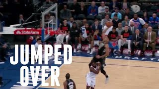 "NBA ""Jumping Over Opponent"" Moments"