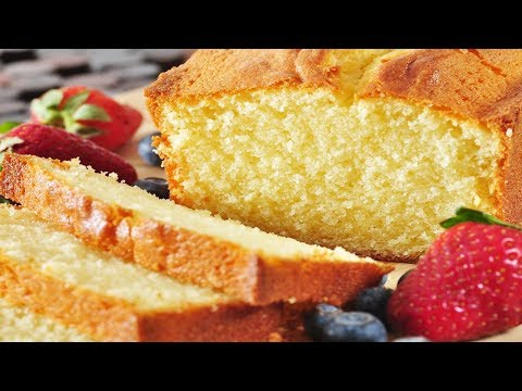 Pound Cake Recipe Demonstration – Joyofbaking.com