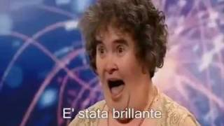 Susan Boyle Britan's got Talent (Sottotitoli in Italiano)