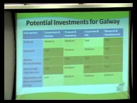 Mike Devane : Session One Galway 2040 Symposium : Enterprise, Innovation, Research, Marine, Energy