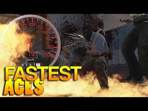 CS:GO - FASTEST Aces! #24