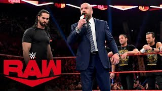 Triple H gives Seth Rollins an ultimatum: Raw, Nov. 4, 2019