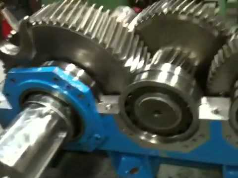 Gearbox Assembly Flender Youtube