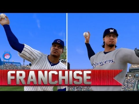MLB 13 The Show Franchise | Brewers vs. Cubs | Big Trade News [EP 6]
