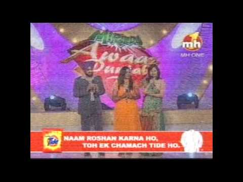 Chitta Kukkad Banere te by Manu Vandana In Grand Finale of Awaaz...