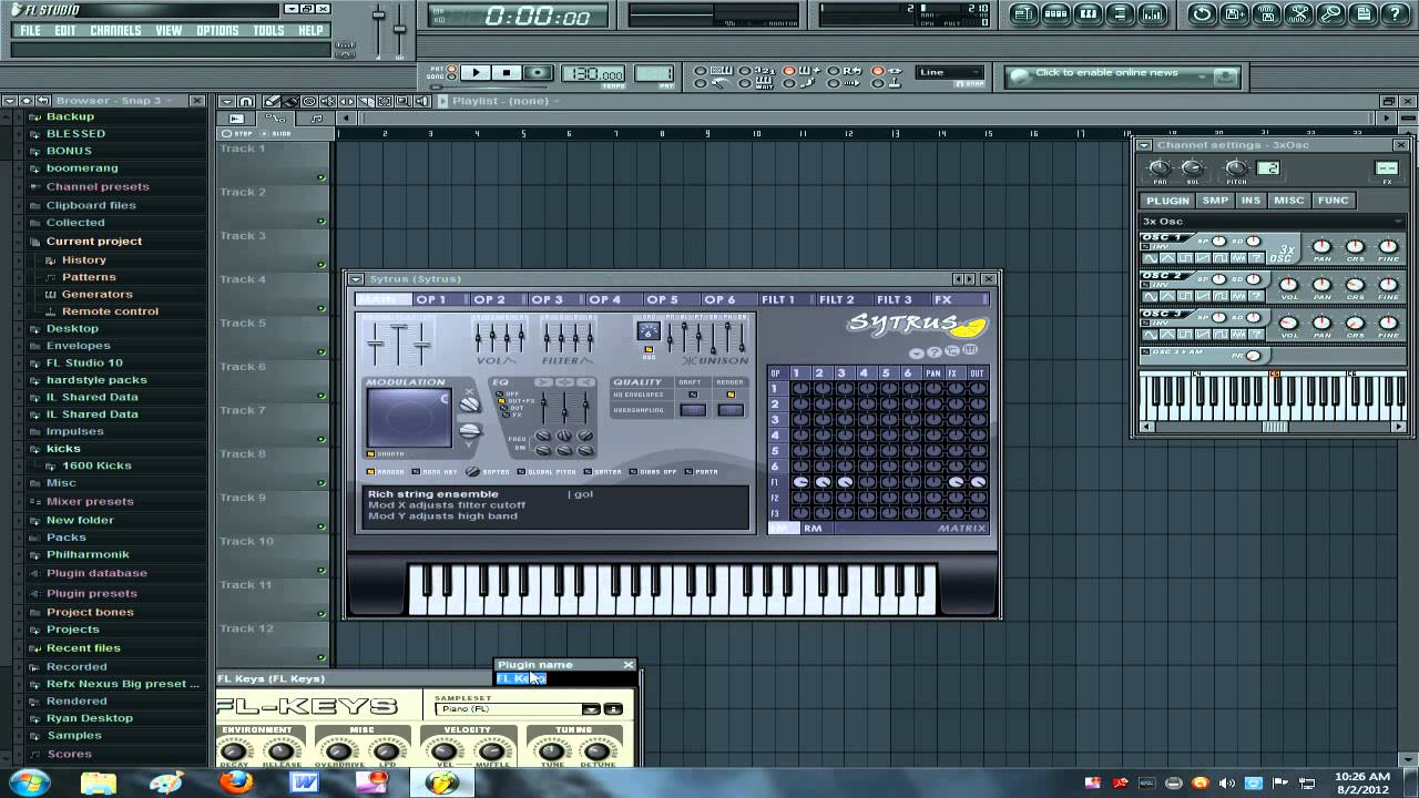 fruity loops all plugins bundle free download