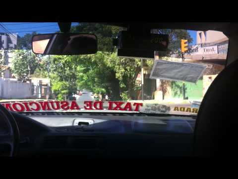 Travel and Tourism Paraguay A Mid Day's Taxi Ride in Asuncion