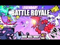 Legendary & Mythical Pokemon Battle Royale ANIMATED �
