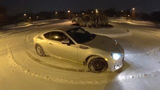 Yes, The Subaru BRZ Works in the Snow. Also Continental WinterContact Si Tire Review