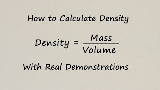 How to Calculate Density of Liquids - With Examples
