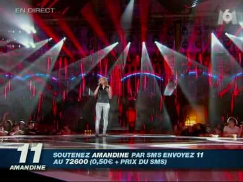 AMANDINE BOURGEOIS...NOTHING COMPARES 2 U...1ER PRIME