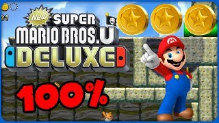 6-3 Waddlewing's Nest ❤️ New Super Mario Bros. U Deluxe ❤️ 100% All Star Coins
