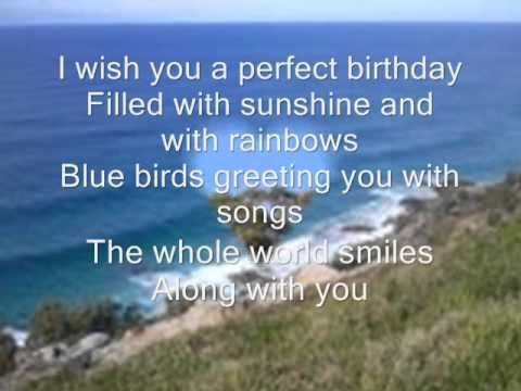 special charming birthday song youtube