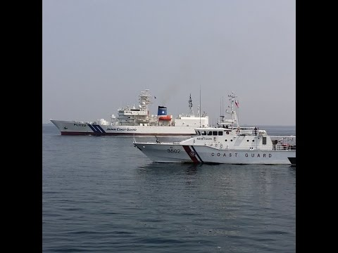 Philippine and Japan Coast Guard Hold First Maritime Exercise
