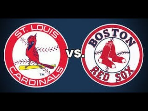 St Louis Cardinals Vs Boston Red Sox Full Game Highlights