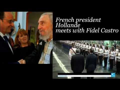 #France, #Cuba: Hollande Calls for End to US Embargo on Cuba During Visit to Havana