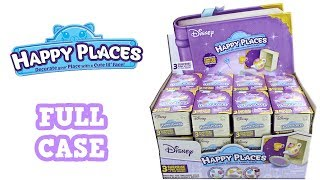 Disney Happy Places Blind Box Full Case Unboxing Blind Bag Opening Entire Case