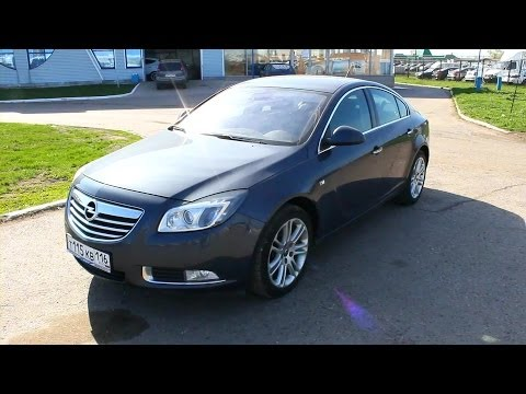 2009 Opel Insignia. Start Up, Engine, and In Depth Tour.