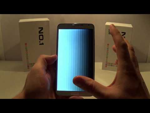 Test No.1 N3 clone Galaxy Note 3 par Chinandroid