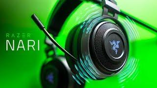 This Headset Vibrates Razer Nari Ultimate Gaming Headset