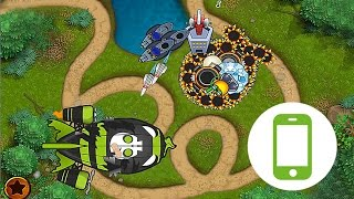 Bloons Monkey City Mobile - Loop to Loop Map - City Level 20
