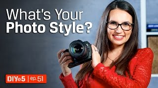 Photography Tips - Finding a Personal Photography Style 📷 DIY in 5 Ep 51