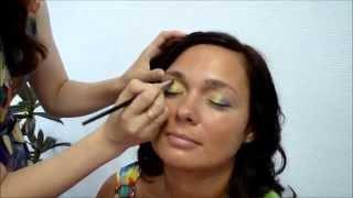Тропический макияж от Татьяны Назиповой